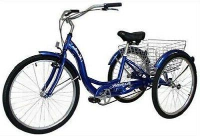 Schwinn Meridian Tricycle Adult Bicycle Bike Trike Ride Bask
