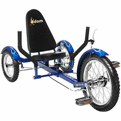 Mobo Triton 16 in. The Ultimate Three Wheeled Cruiser Recumb