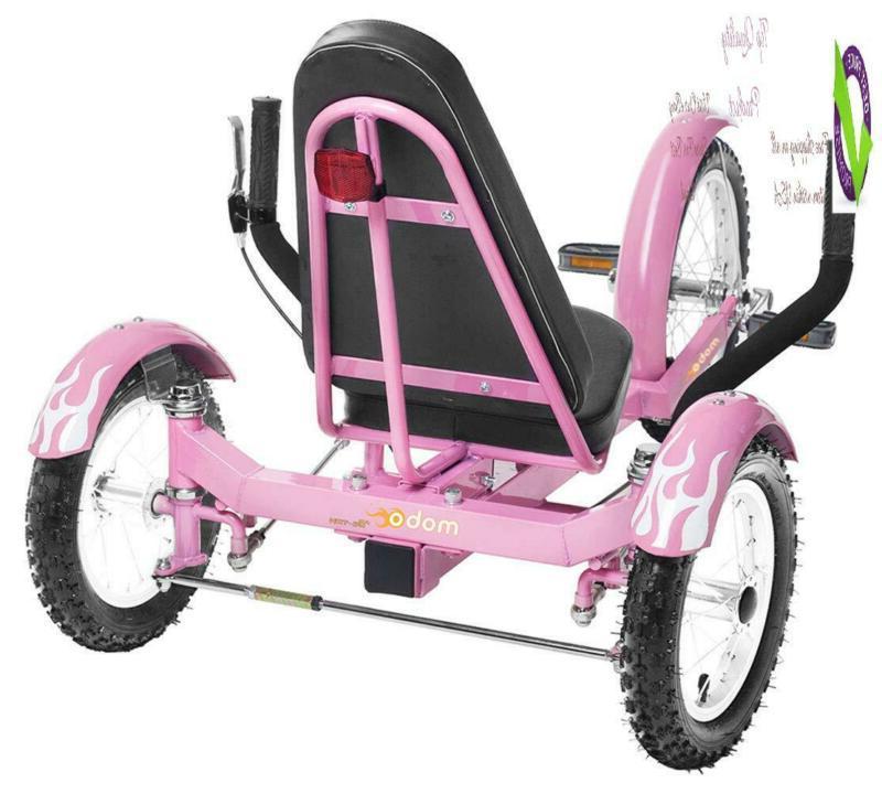 Mobo Go Kart Trike. Kids 3-Wheel Bike. Cruiser