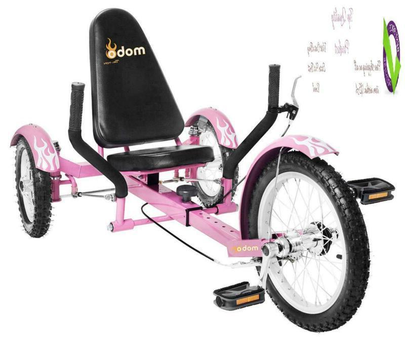 mobo triton pedal go kart trike kids