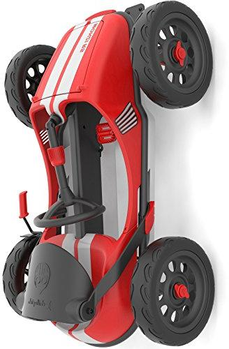 Chillafish Kids Foldable Pedal Airless RuberSkin Red