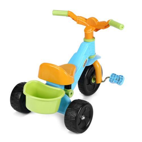 3-Wheel Bike Kids Toy Children Toddler 3-6