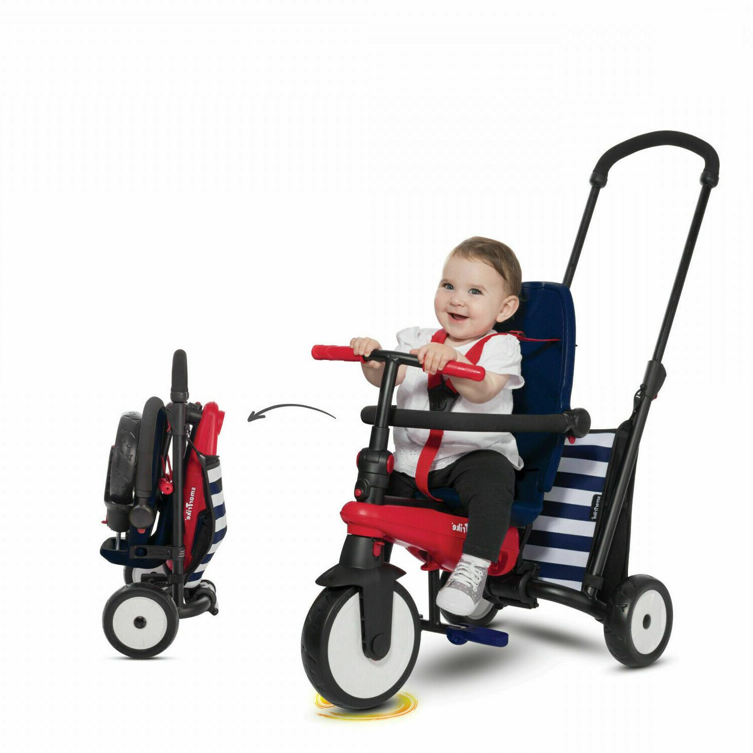 toddlers folding tricycle 10 36 months baby