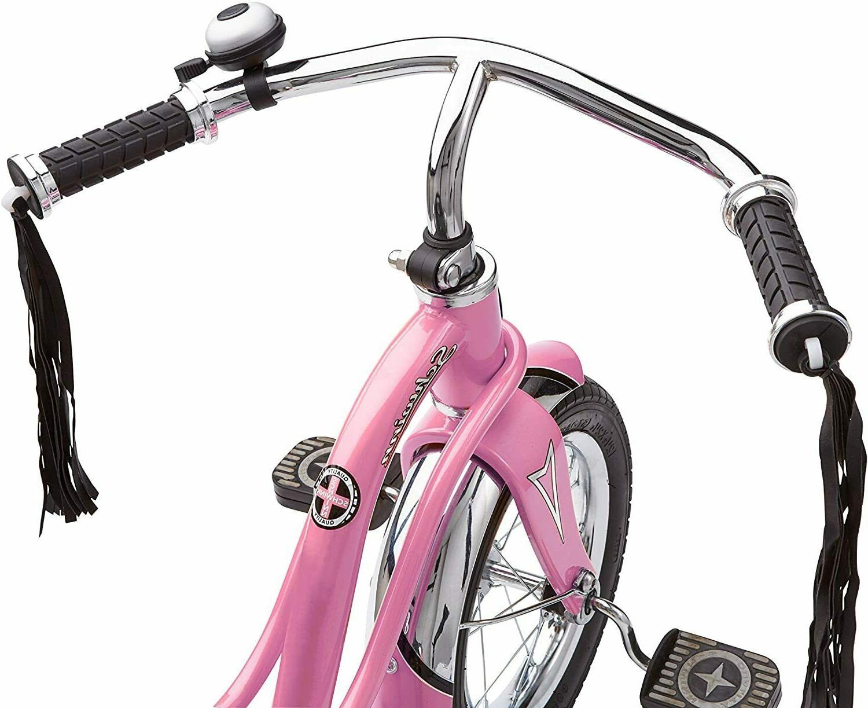 NEW Schwinn 12 inch wheel Retro Style Kids Roadster Tricycle Pink
