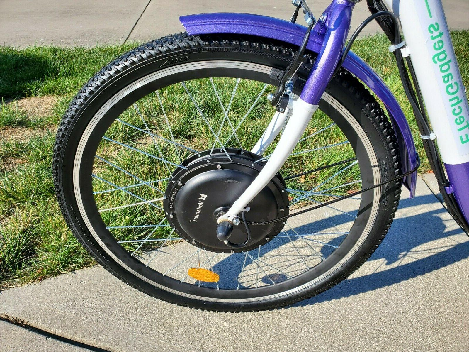 """New! 26"""" Electric Tricycle 48 volt 10.5Ah and more"""