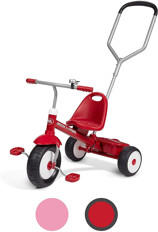 NEW Radio Deluxe Steer Trike RED