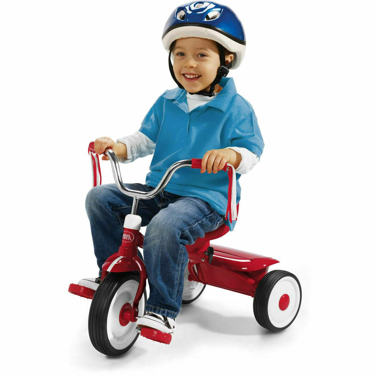 NEW Kids Tricycle Fun Xmas gift Ready to Ride Folding Toy Bi