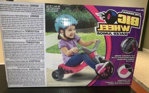 new original big wheel junior racer girls