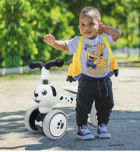 nib ancaixin baby balance bike toddler tricycle