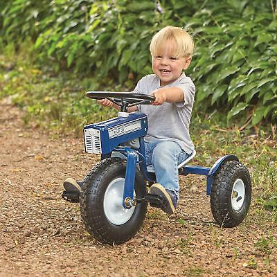 ol blue steel tractor tricycle