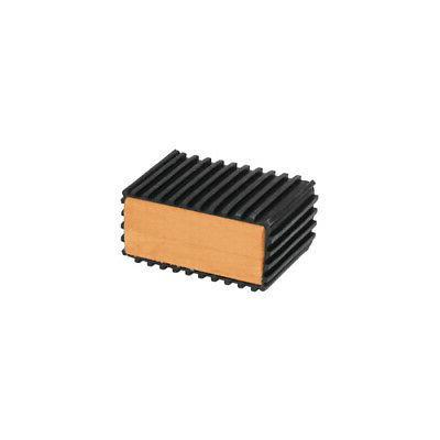 pedal blocks rubber wood