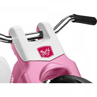 Kids Flyer Chopper Tricycle Adjustable Seat Sports Pink