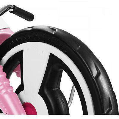 Kids Big Tricycle 16 Front Adjustable Seat Pink