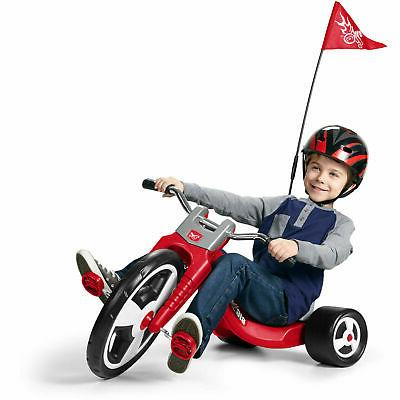 "Radio Sport Boys Trike 16"" Wheel Red Style Bike for Kids"