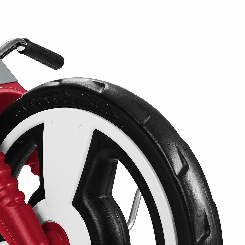 "Red Radio Big 16"" Front Wheel"