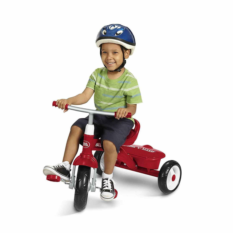 Red Triciclo Rider Kids Fun