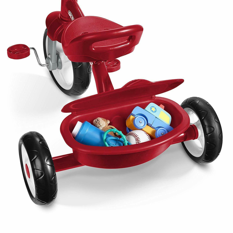 Red Radio Flyer Triciclo Trike Kids Toddler Fun