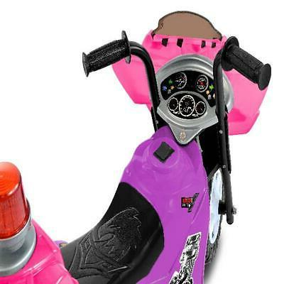 Ride Battery Purple/Pink With Flashing