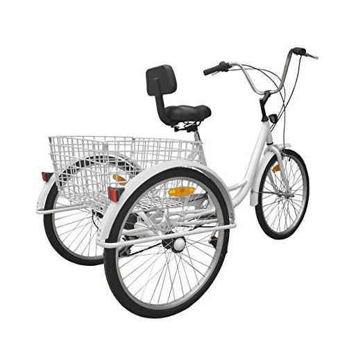 Iglobalbuy Adult Bike Bike Basket