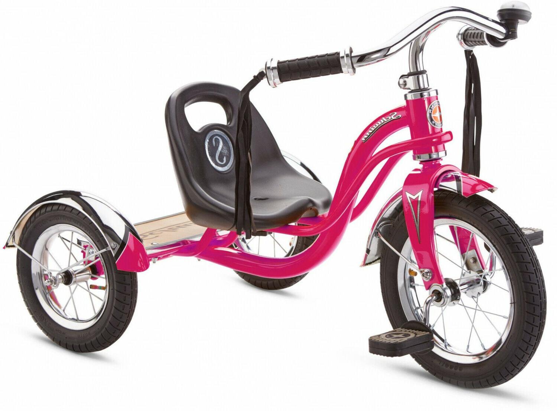 Schwinn Retro-Style 12-Inch Wheel Hot Pink Air