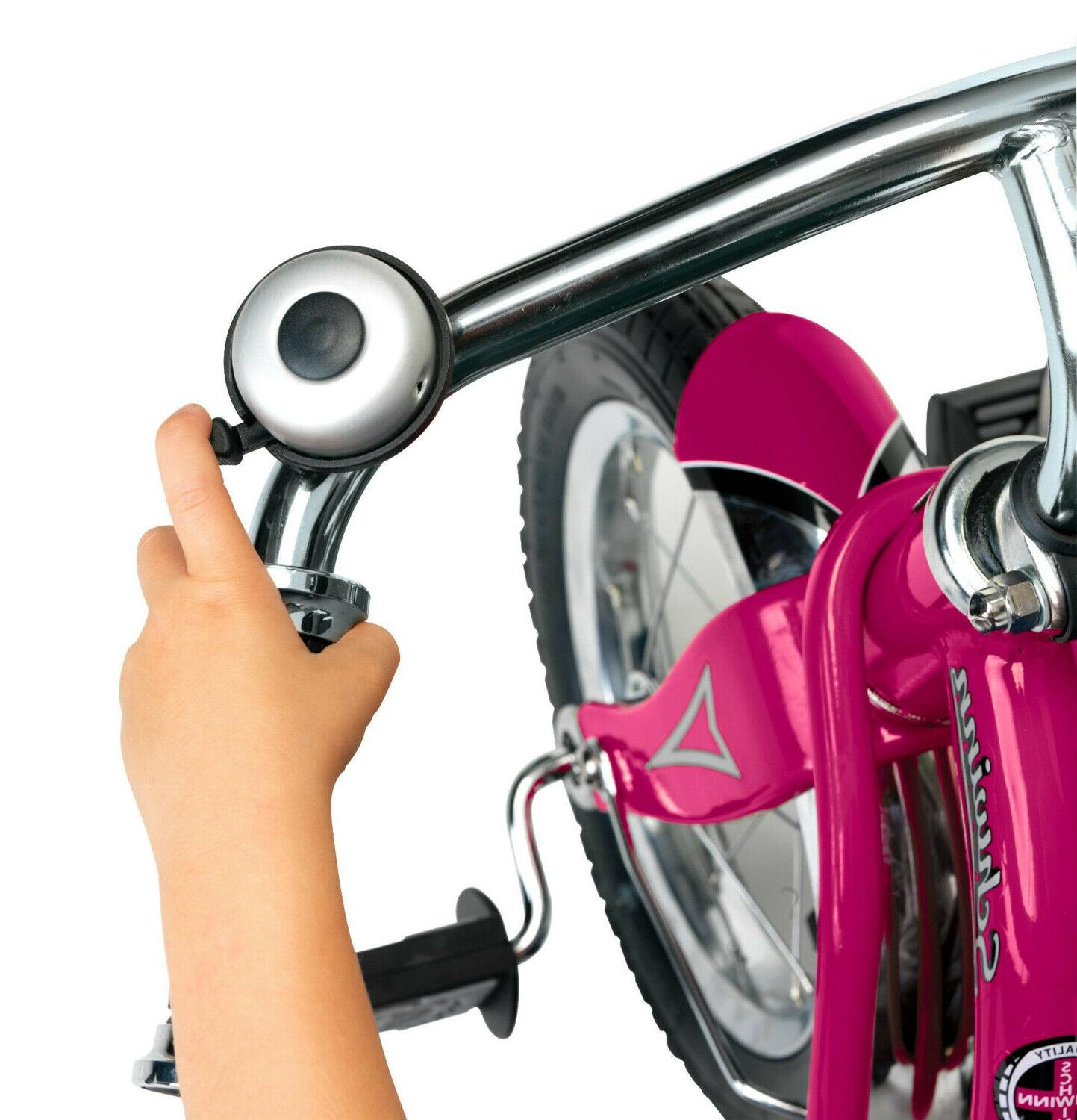Schwinn Roadster Tricycle Retro-Style 12-Inch Front Pink Tires