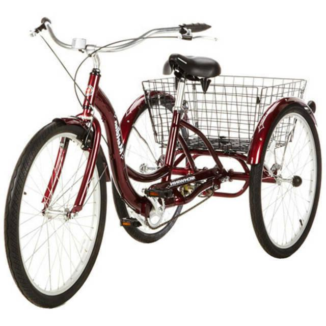 new in box s4002 meridian adult tricycle