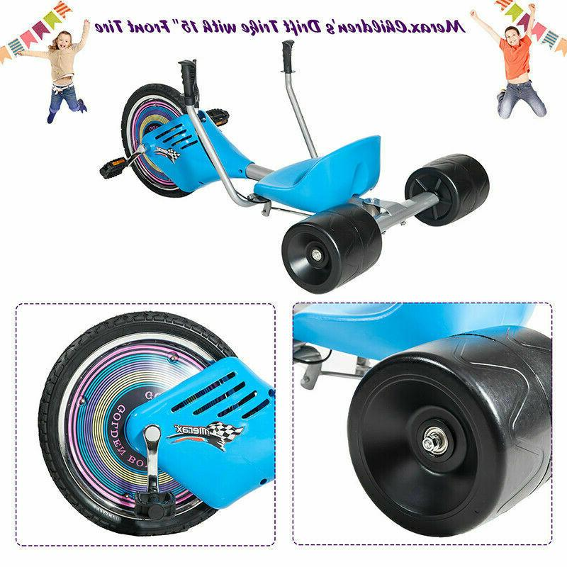 Scooter Children's Tricycle Trike Big Blue US