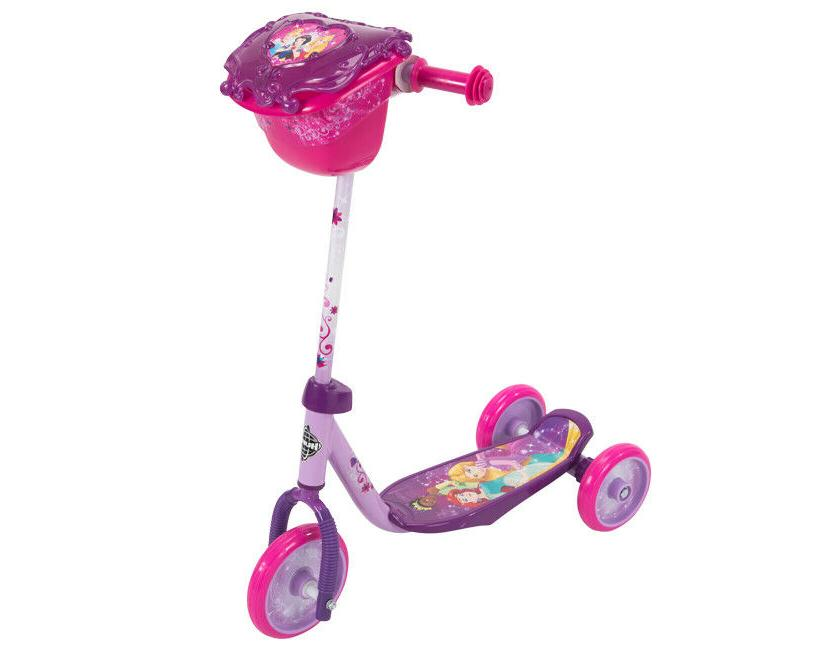 Huffy Disney Princess Scooter, 3-Wheel Pink NEW