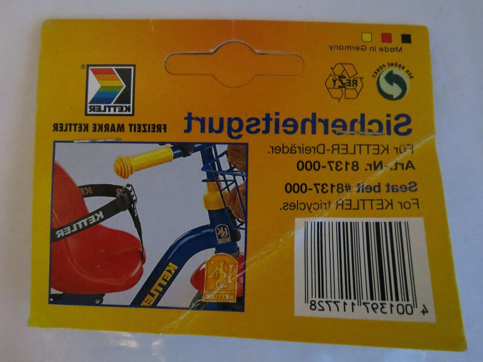 Kettler Seat Belt Kettler tricycle