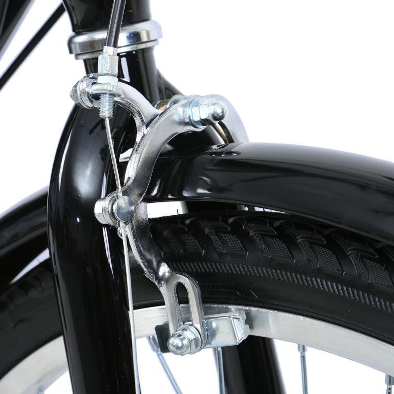 "Adult 24"" 3-Wheel Bicycle Bike Cruise Black"