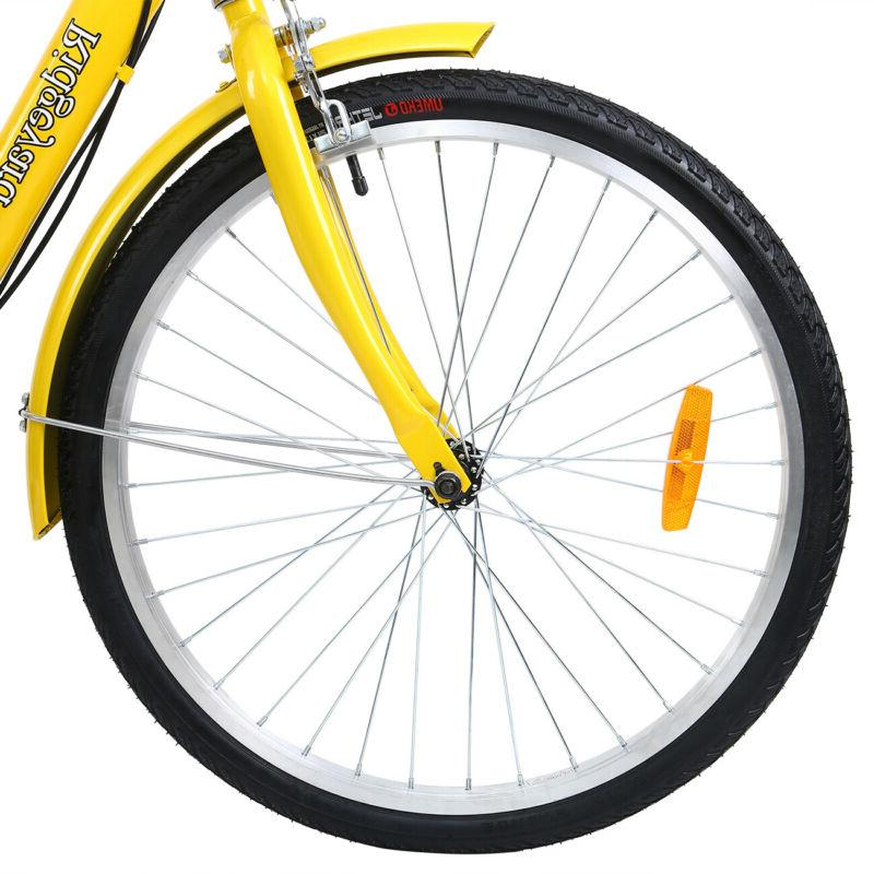 "7-Speed 24"" Cruise With Basket Yellow"