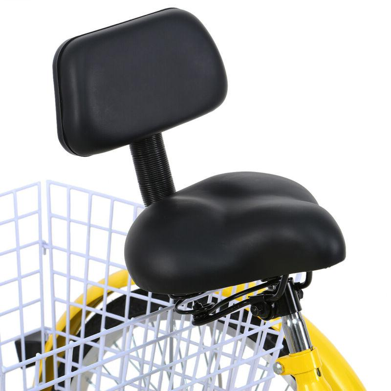 3-Wheel Adult Tricycle 7-Speed Bike Cruise Gift