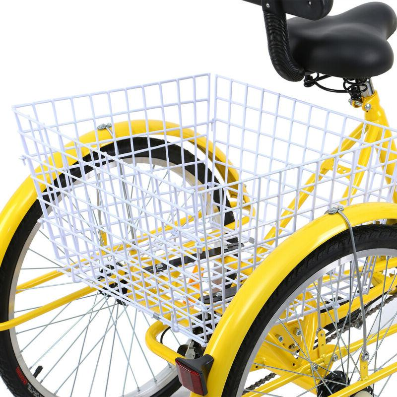 Trike Bicycle Tricycle W/