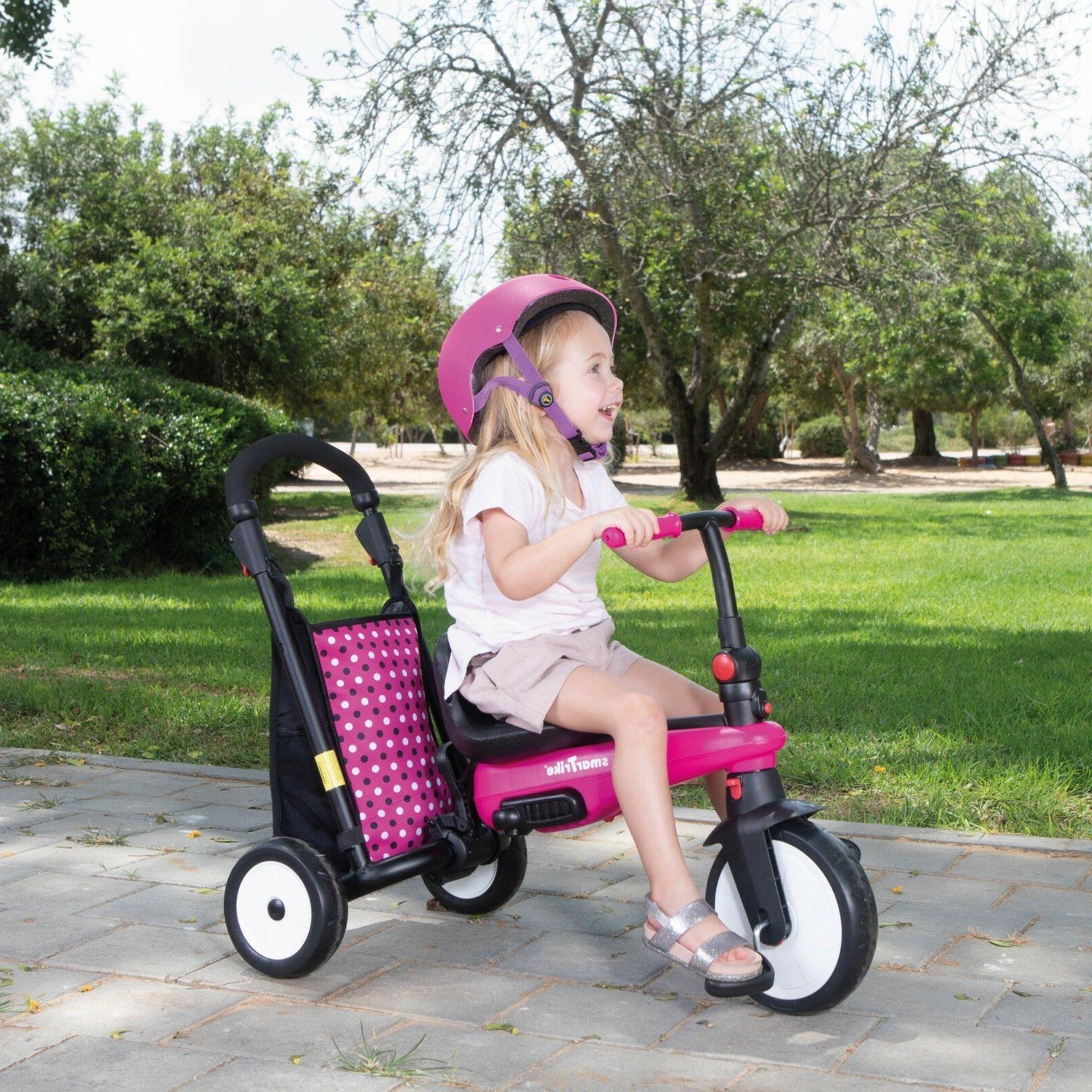 Smart Trike Folding smarTrike 5-in-1 smarTfold 300+ Pink New!