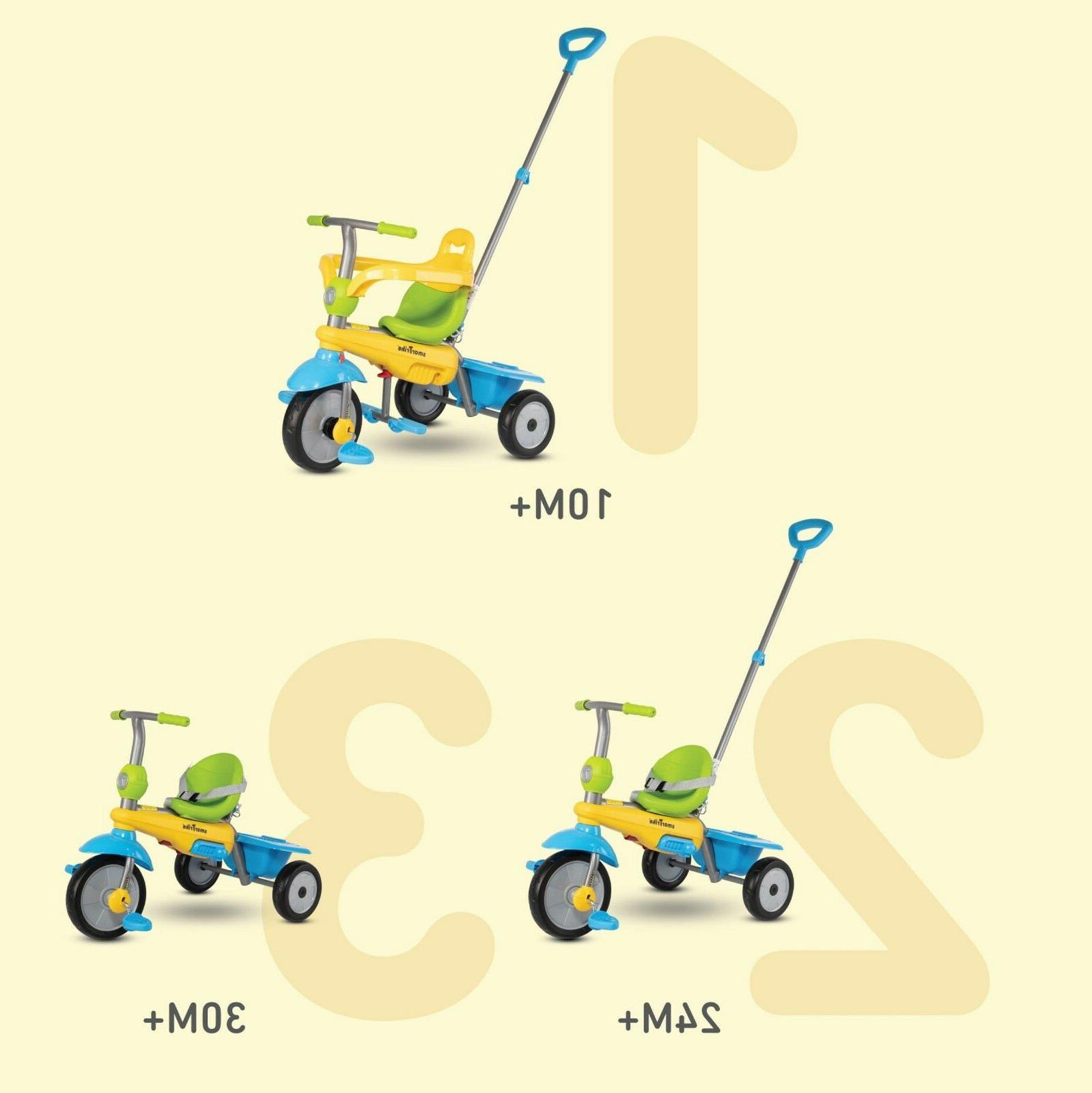 SmarTrike 3-in-1 Lollipop Trike Tricycle Safe Easy Touch Ste