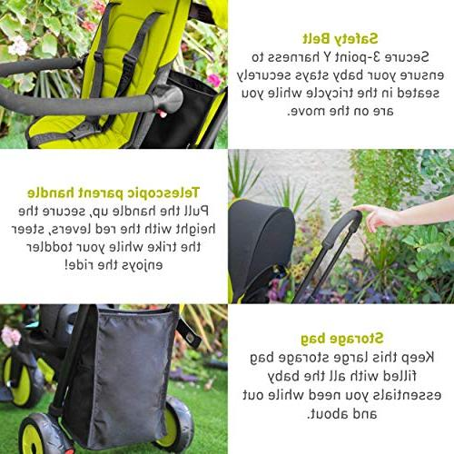 smarTrike Smartfold Baby Tricycle,