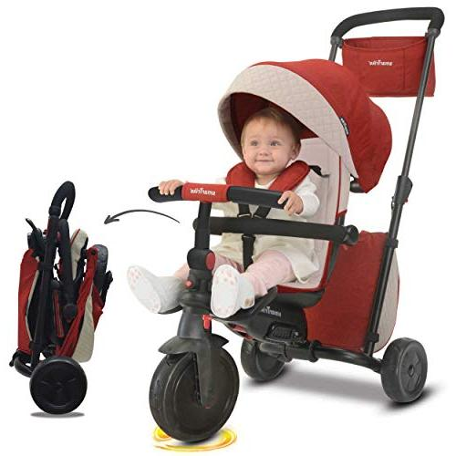 smarTrike Smartfold Baby Red