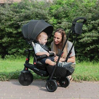 smarTrike smarTfold Tricycle 8 In Black