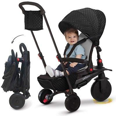 smarTrike baby Tricycle 8 with Black