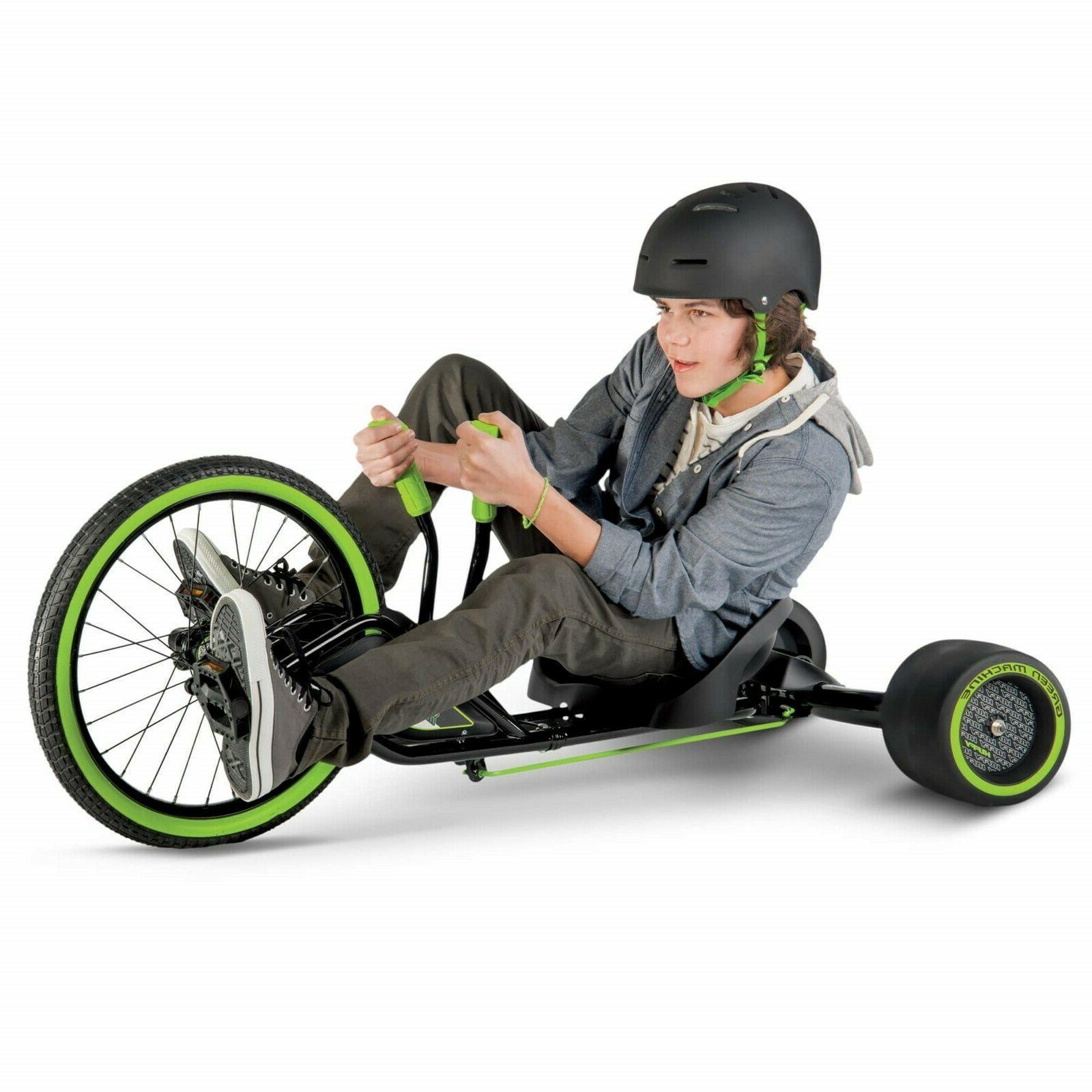 spin slide drift trike