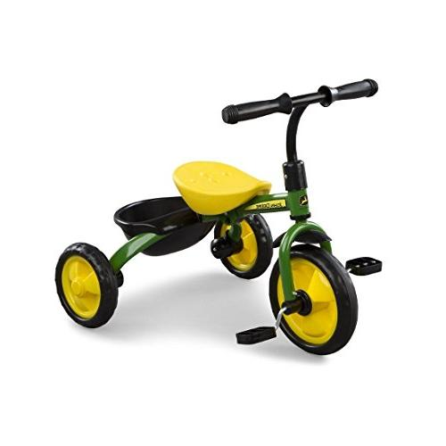 steel tricycle green