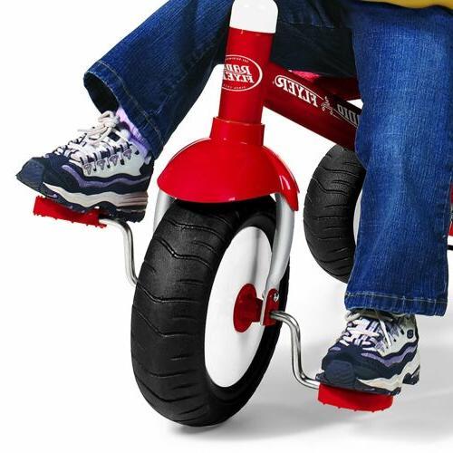 Radio Flyer Steer Stroll Tricycle Push