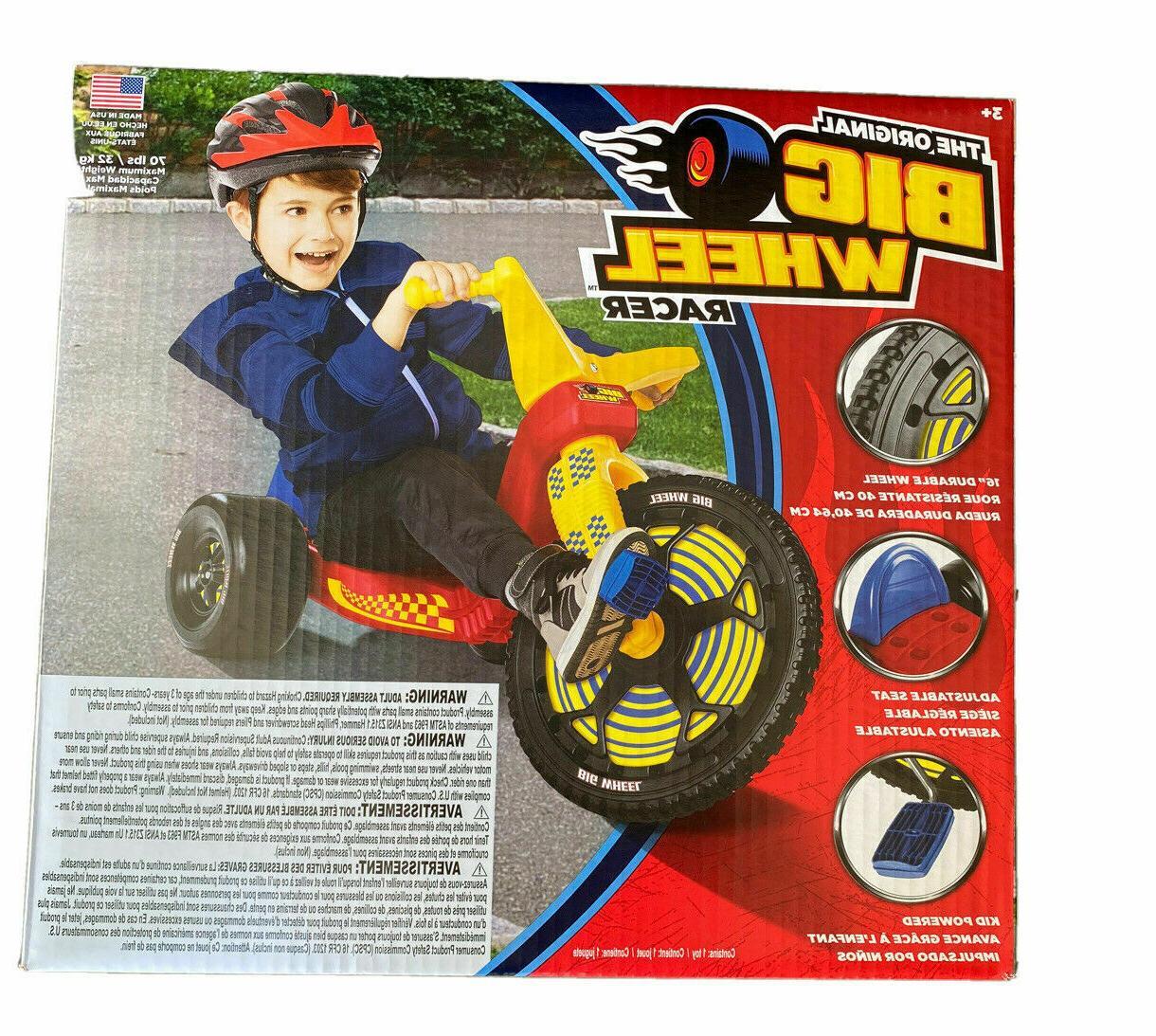 the original 16 inch big wheel racer
