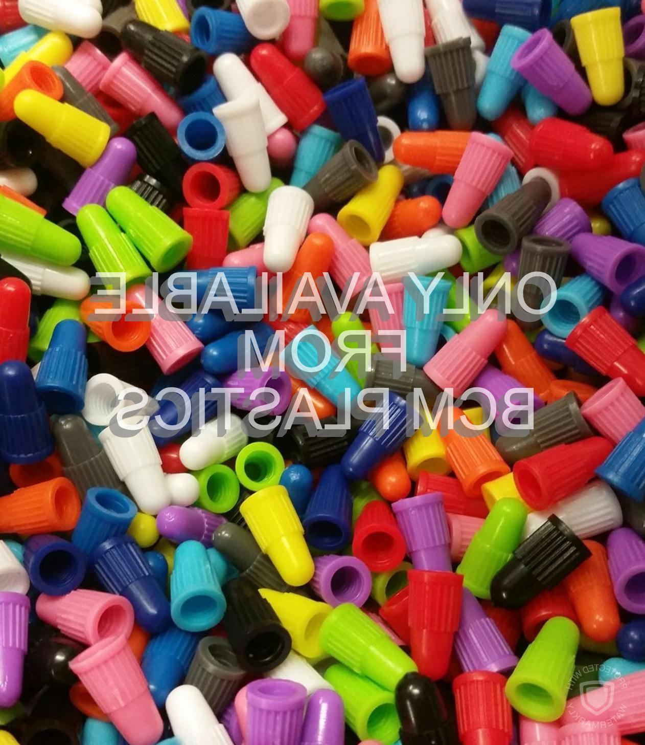 the original plastic colored presta valve caps