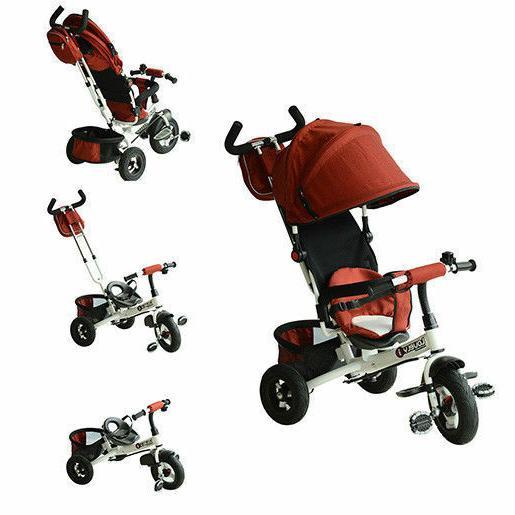 toddler tricycle stroller trike bike