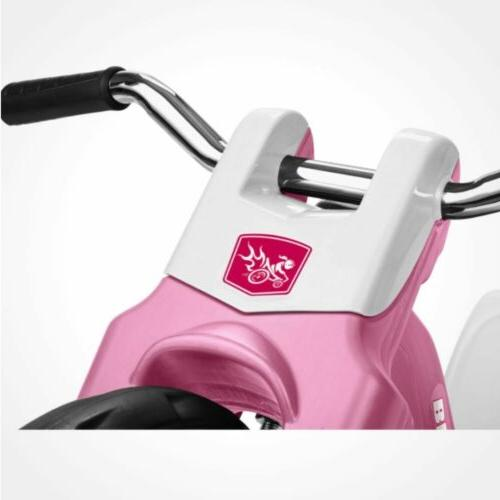 Kids Tricycle 16 Front Adjustable Sports Pink