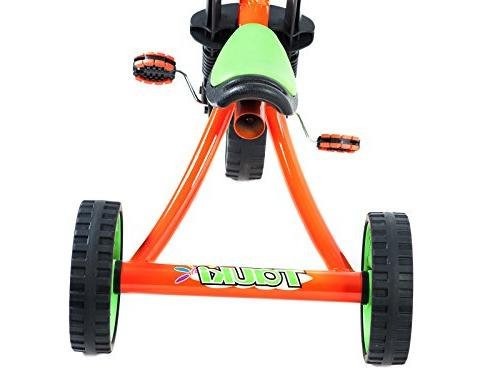 Tauki 12 Inch Kids Tricycle Trike, Orange