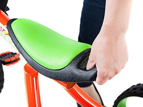Tauki Tricycle Wheels Trike, Orange