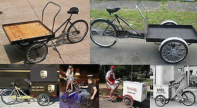 WFLTBE Hub 2 Delivery Cart Trike Bicycle