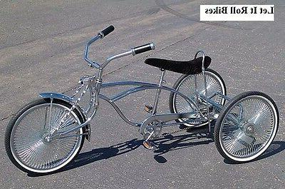 TRICYCLE CONVERSION KIT BLACK HOLLOW FIXED SPROCKET LOWRIDER NEW!